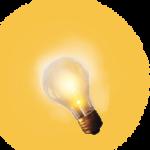 lampadina accesa
