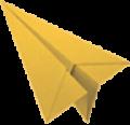 Aeroplano color senape